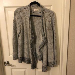 Lou & Grey - grey cardigan, size M